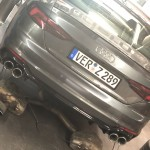 Capristo exhaust Audi RS5 5