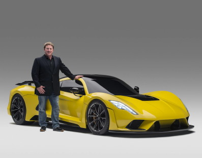 The Hennessey Venom F5 Is Good For More Than 400 kph!