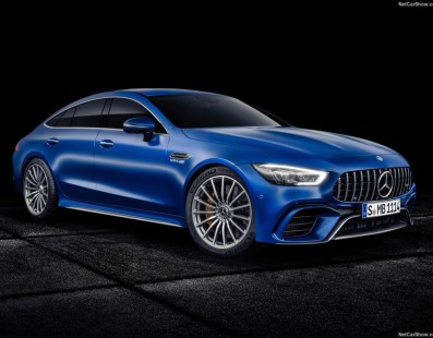 Mercedes-Benz Finally Unveiled The All-New GT 4-Door Coupe