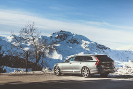 Volvo V90 In Winterland