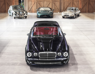 Jaguar XJ Greatest Hits: Special Model For Iron Maiden's Drummer Starts Celebrating XJ's 50th Anniversary