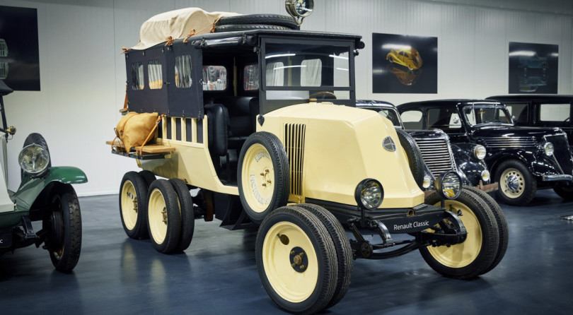 120 Anni di Renault – Renault Type MH 6 Ruote (1924)