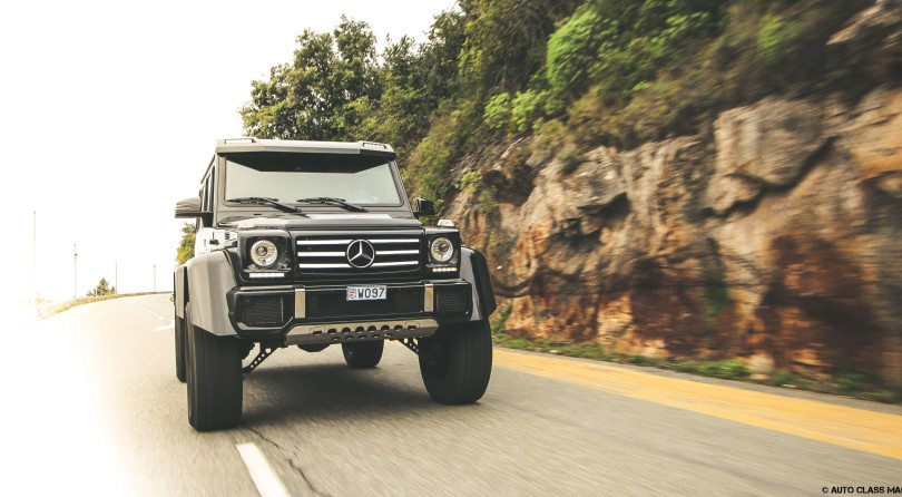 Mercedes G500 4X4² – Roads? We Don't Need Roads