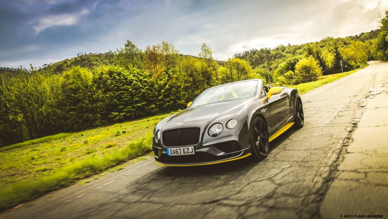 Bentley Continental GTC V8S Auto Class Magazine