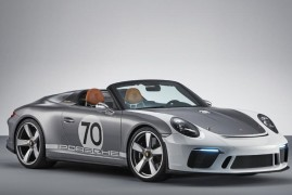 Porsche Celebrates 70 Years of Awesome Sports Cars With A New Speedster Concept