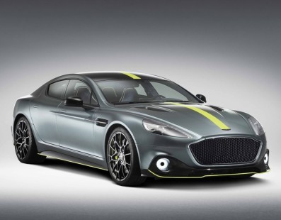 Aston Martin Rapide's Swansong Is A 580HP Super Sedan