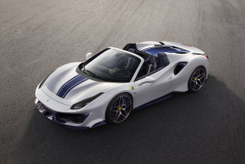You Know This Was Coming: Here Is The Ferrari 488 Pista Spider