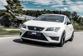 """Leon King"": ABT Puts 370 HP In The Cupra 300 Carbon Edition"