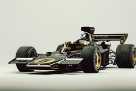 Black & Gold: Lotus 72 F1
