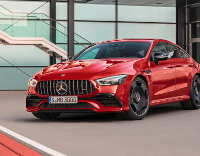 Mercedes AMG GT43 4-Door Coupé: Nuova Entry Level Da 367CV