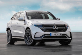 Mercedes-Benz Unveils The All-Electric EQC Boasting 402HP And A 200-Mile Range