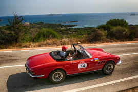 More Than 70 Classic Ferrari Gathered In Sardinia For The 2018 Cavalcade Classiche