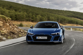 More Powerul and Sharper: This Is The Updated Audi R8