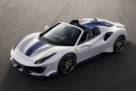 Ferrari 488 Pista Spider: Next Level Topless Performance