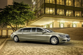 Mercedes-Maybach Pullman: Blue Blood