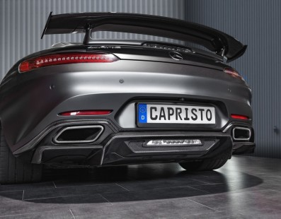 Mercedes AMG GT S: Dose Extra di Carbonio by Capristo