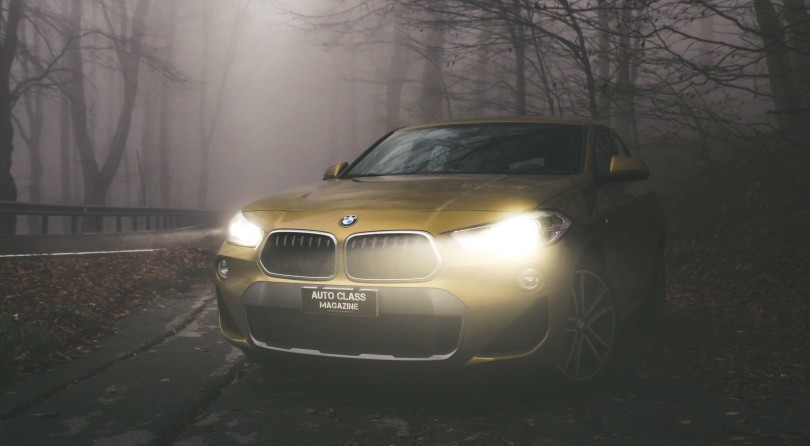 BMW X2: Gold Rush