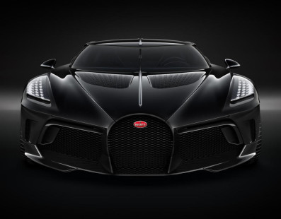 €11-Million Bugatti La Voiture Noir. Let's Celebrate!