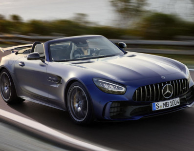 The Hardcore Mercedes AMG GT R Roadster Comes In Only 750 Units