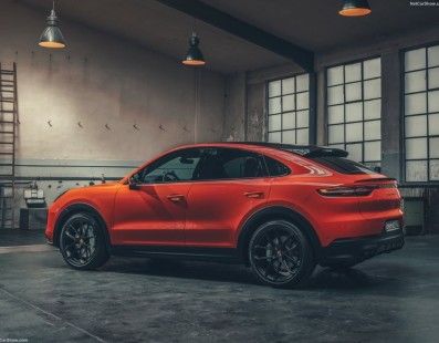 Porsche Cayenne Coupe: A Bit Late, But With Arrogance