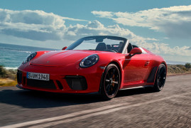 Porsche 911 Speedster: The Exclamation Point Over Porsche's 70 Years