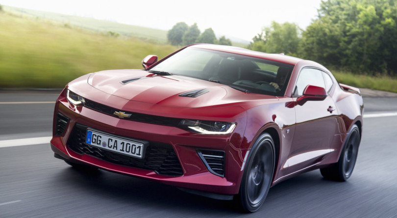 Chevrolet Camaro: Pure American, Enjoyable By Europeans.