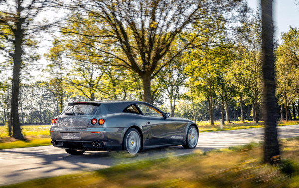 Ten Years In The Making. Behold The Ferrari 612 Scaglietti Shooting Brake One-Off Made By Vandenbrink Design