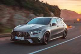 Mercedes Gives You The New 416-HP A45 AMG