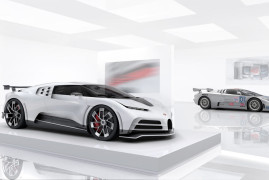 Bugatti Centodieci Pays Homage To The Very First Hypercar