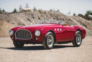 Italian Masterpiece: The 1952 Ferrari 225 Sport Spider by Vignale