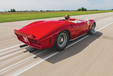 Behold The 1962 Ferrari 196 SP by Fantuzzi