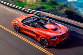 The All-New Mid-Rear Engined Corvette Stingray Becomes A Convertible