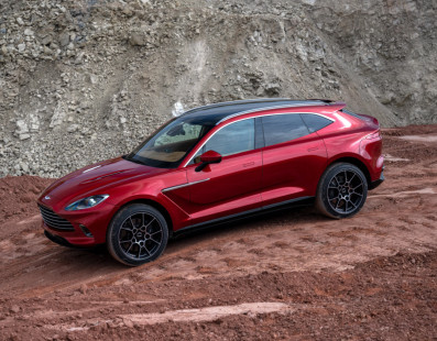 Aston Martin DBX   Gaydon's First Ever SUV Comes With A 550-HP And 700 Nm Twin-Turbo V8