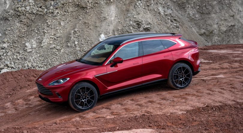 Aston Martin DBX | Gaydon's First Ever SUV Comes With A 550-HP And 700 Nm Twin-Turbo V8