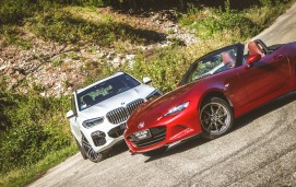 BMW X5 / Mazda MX-5 | Test Drive