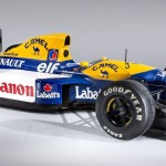 Williams Renault Camel Canon Auto Class Magazine