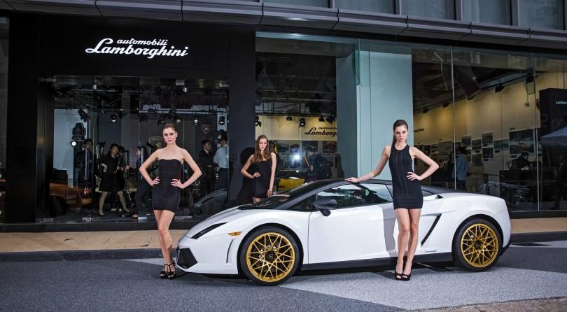 Hong Kong: Lamborghini musem opens up
