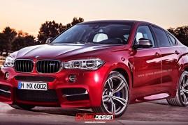 BMW X6M rendering