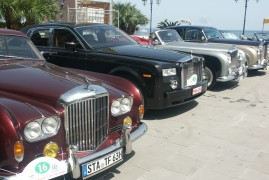 Rolls Royce: grand meeting in Alassio