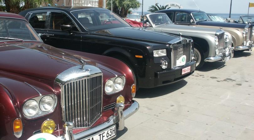 Rolls Royce: grand meeting in Alassio