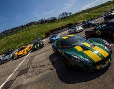 Club Lotus Italy: Reunion at Vallelunga circuit