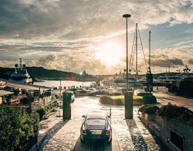 Rolls-Royce a Porto Cervo
