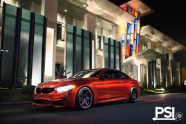 A BMW M4 landed from Hell