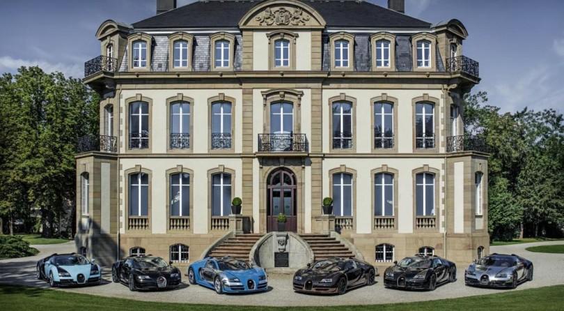 Bugatti: Six legends for posterity