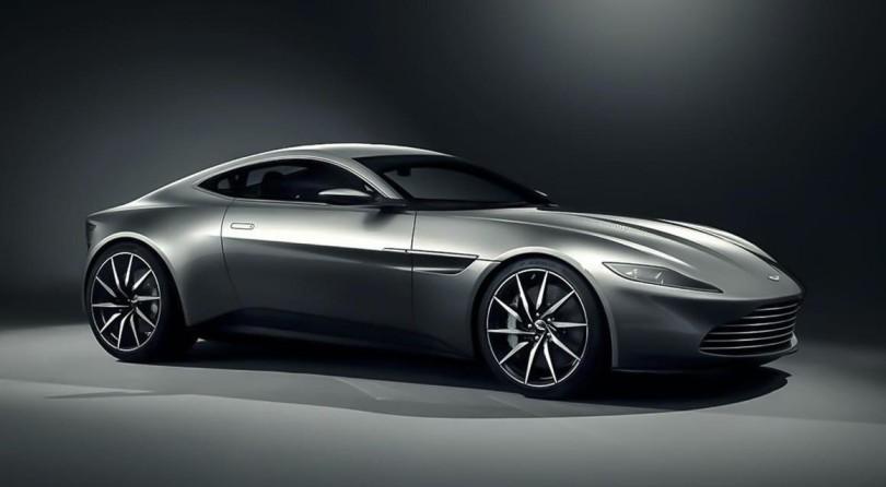007 drives a DB10