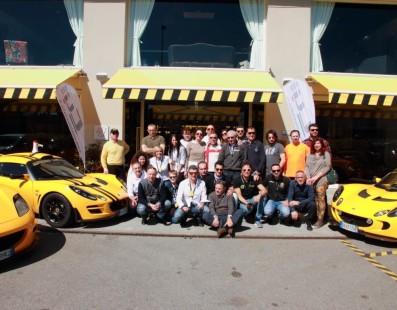 Club Lotus Italy: Reunion on track