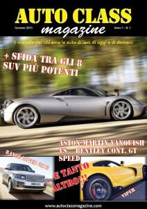 01Auto Class Magazine Gennaio 2013 copertina Auto Class Magazine