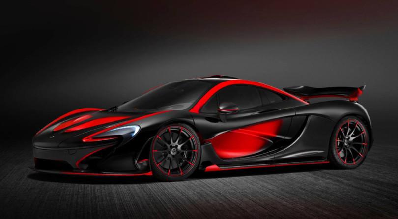 Warning: Explicit McLaren P1 Paintjob