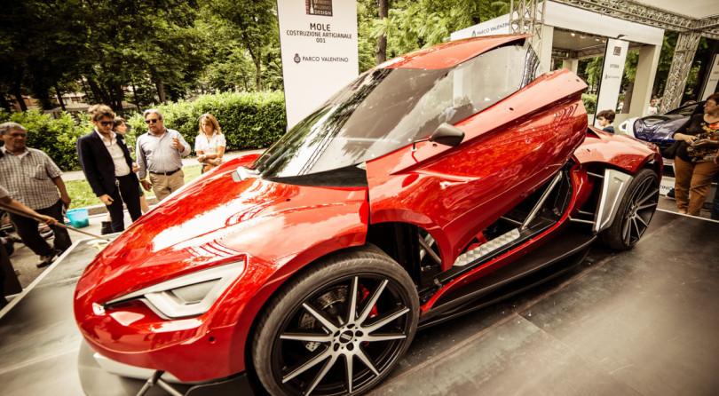 L'Italia sa fare belle auto e Mole 001 ne è un esempio