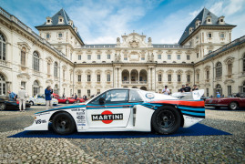 Past and Present Supercars Invade Turin